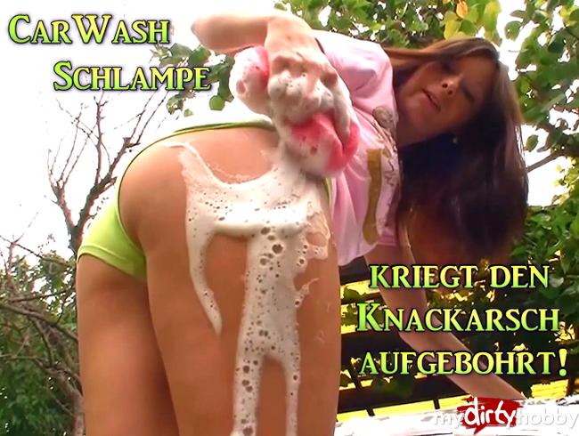 Video Thumbnail Car-Wash Schlampe kriegt den Knackarsch aufgebohrt!