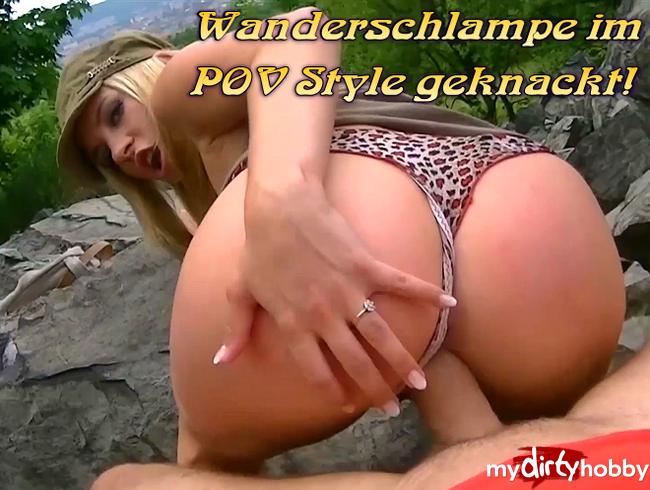 Video Thumbnail Wanderschlampe im POV Style geknackt!