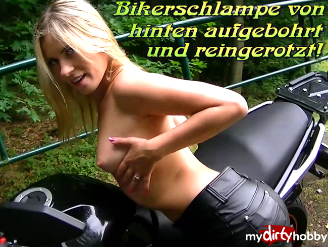 Video Thumbnail Bikerschlampe von hinten aufgebohrt und reingerotzt!
