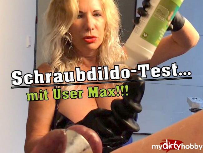 Video Thumbnail Schraubdildo-Test... mit User Max!!!