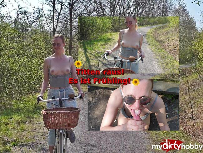 Video Thumbnail Mein ERSTER outdoor Fick! Titten raus - es ist Frühling!