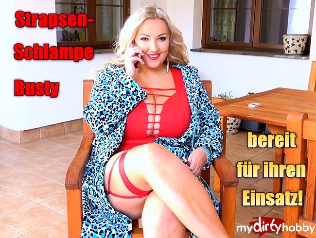 Video Thumbnail Strapsen-Schlampe Busty bereit für ihren Einsatz!