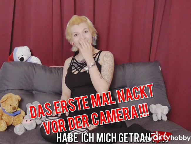 Video Thumbnail Mein erstes Mal Nackt vor der Kamera habe ich mich getraut?!?