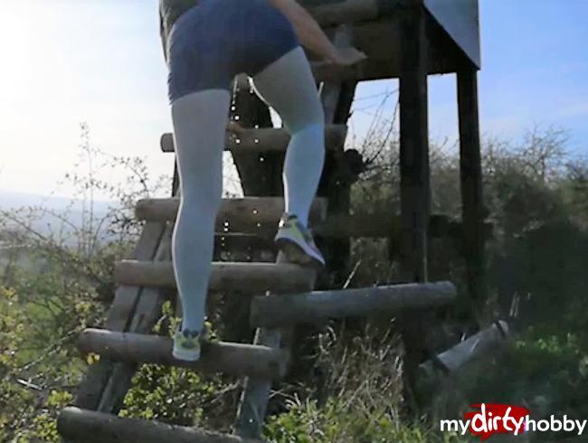 Video Thumbnail Den Jägerstand nass gemacht