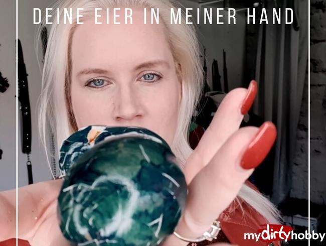 Video Thumbnail Deine Eier zerquetscht in meinen Händen