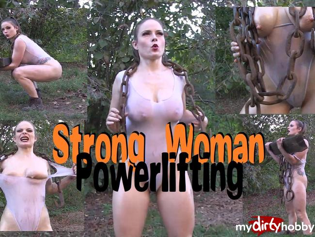 Video Thumbnail Strong Woman Powerlifting