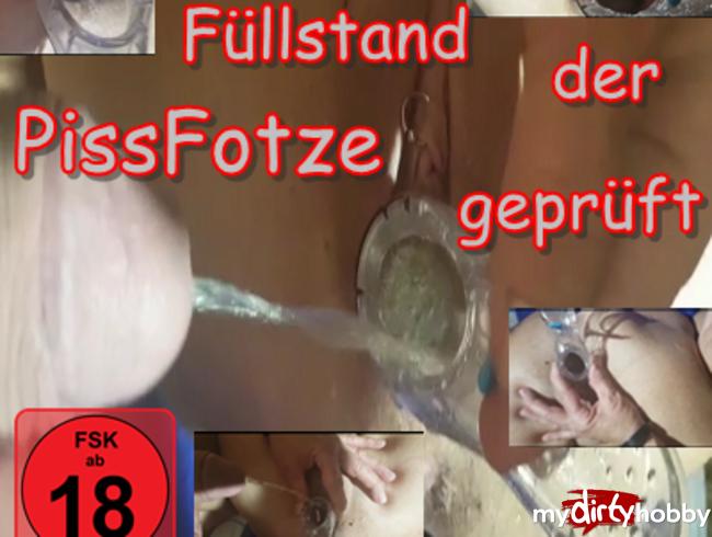 Video Thumbnail Inspektion Füllstand der PissFotze geprüft