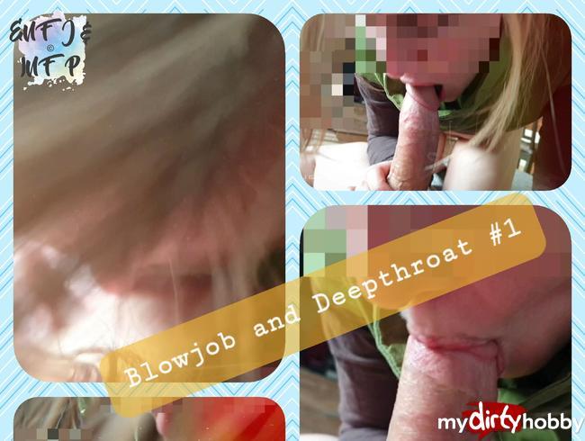 Video Thumbnail Blowjob und Deepthroat #1