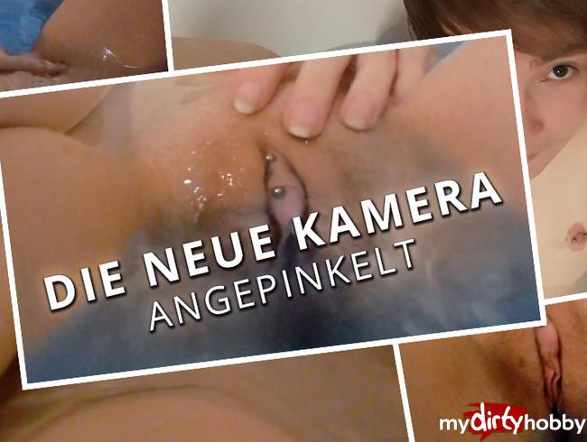Video Thumbnail Die neue Kamera angepinkelt