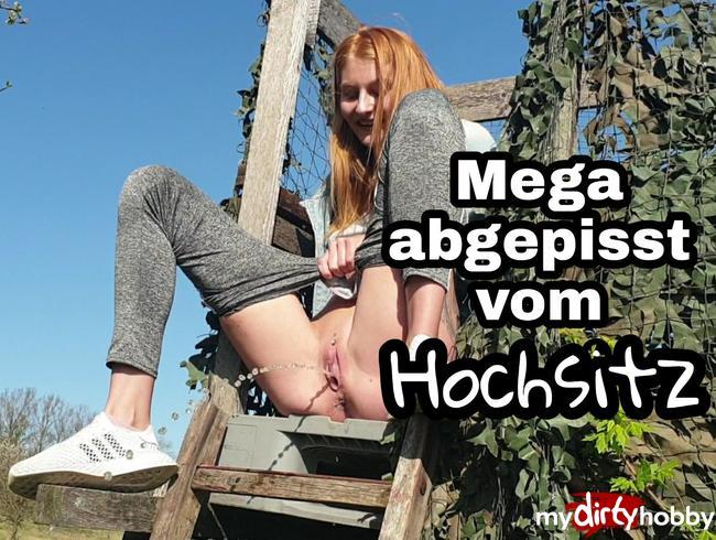 Video Thumbnail Mega abgepisst vom Hochsitz