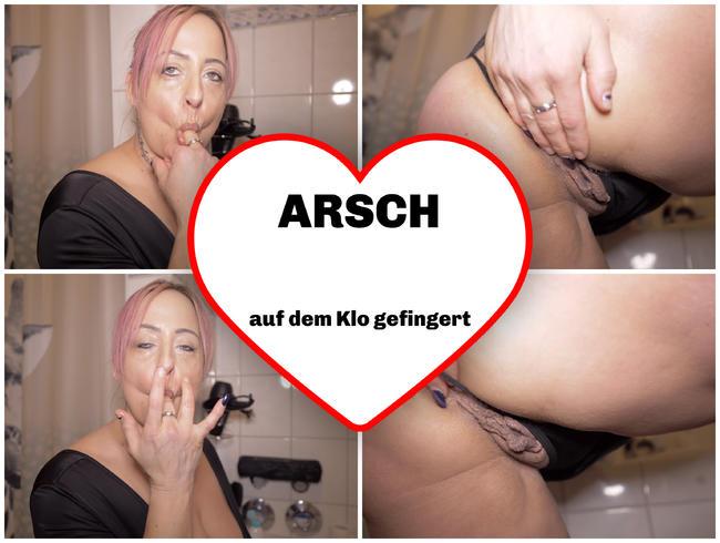 Video Thumbnail Arsch auf dem Klo gefingert!