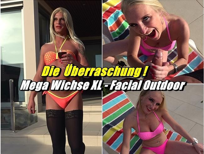 Video Thumbnail Die Überraschung ! Mega Wichse XL - Facial Outdoor