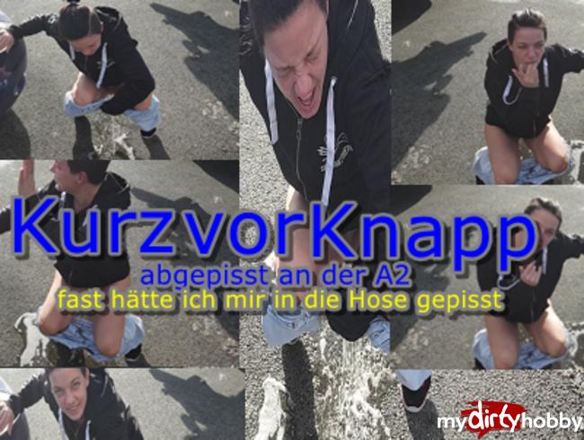 Video Thumbnail Kurz vor Knapp - Abgepisst an der A2.