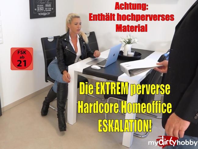 Daynia - Die EXTREM perverse Hardcore Homeoffice Eskalation | MEGAPISSLADUNGEN vs. XXL Spermafresse!
