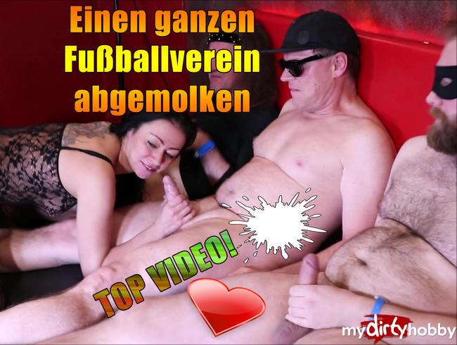Video Thumbnail Einen ganzen Fußballverein abgemolken