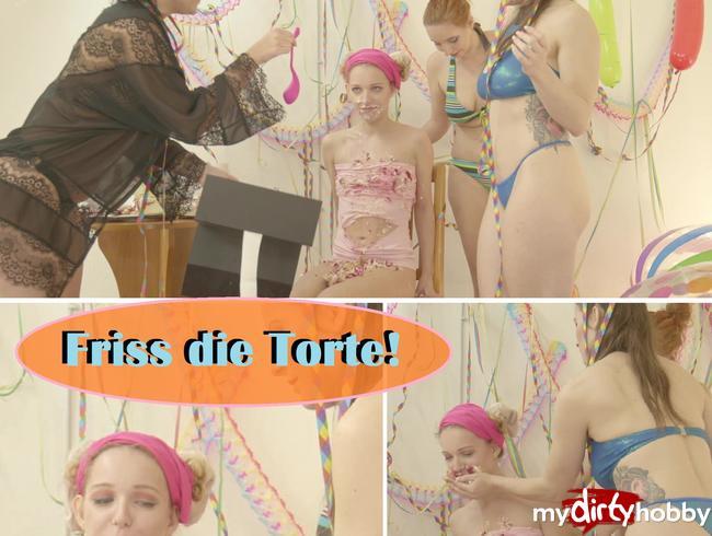 Video Thumbnail Friss die Torte!!