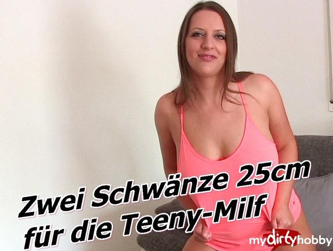 Video Thumbnail Zwei Schwänze (25cm) für die Teeny-Milf