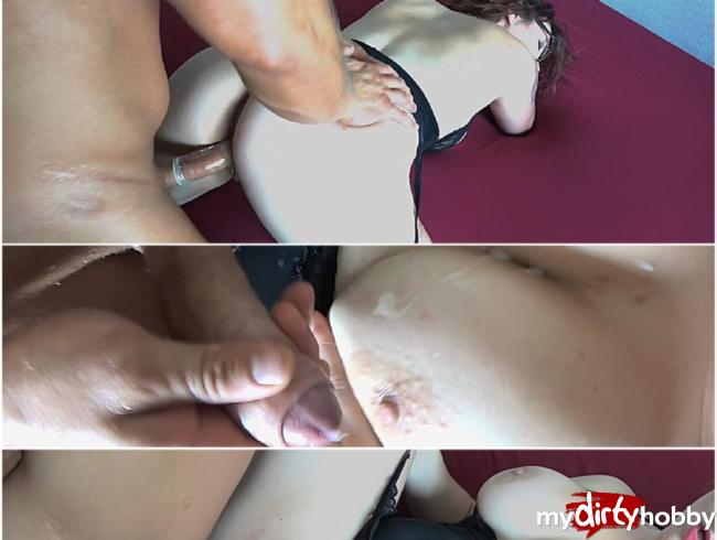 Video Thumbnail Hart gefickt und Titten besamt
