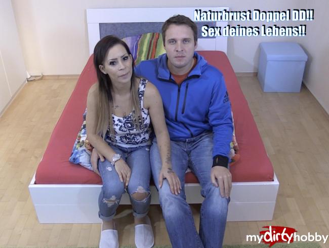 Video Thumbnail Newcomerin Fick mit User Naturbrust Doppel DD!!!