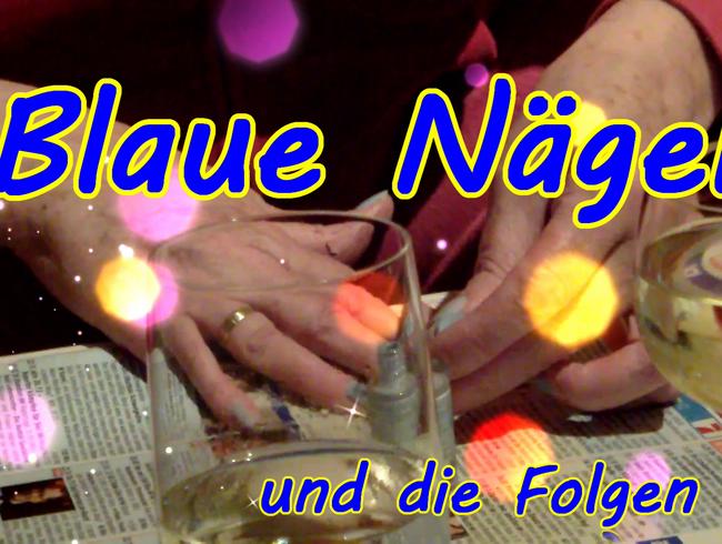 Video Thumbnail Blue Nails