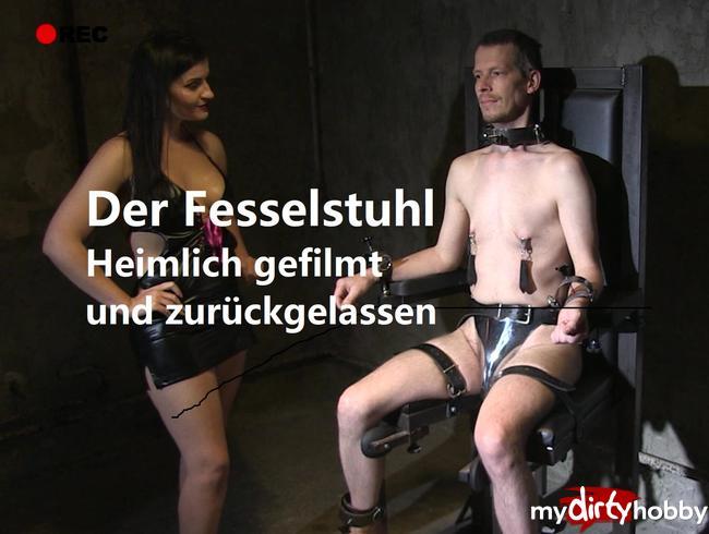Video Thumbnail Der Fesselstuhl- heimlich gefilmt und zurückgelassen