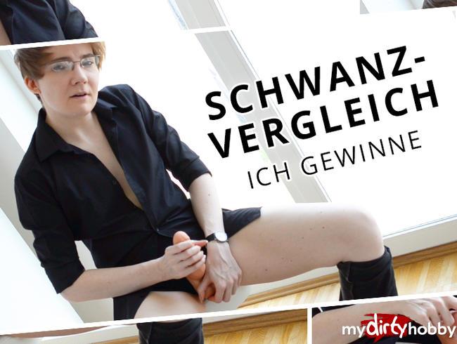 Video Thumbnail Schwanzvergleich - ICH gewinne