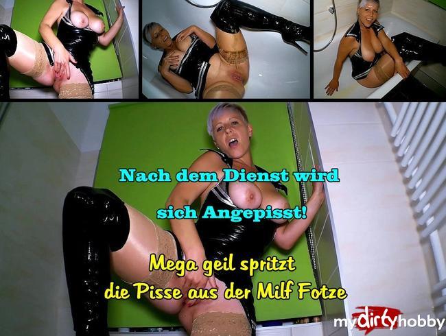 Video Thumbnail Geile Polizistin Pisst sich voll!