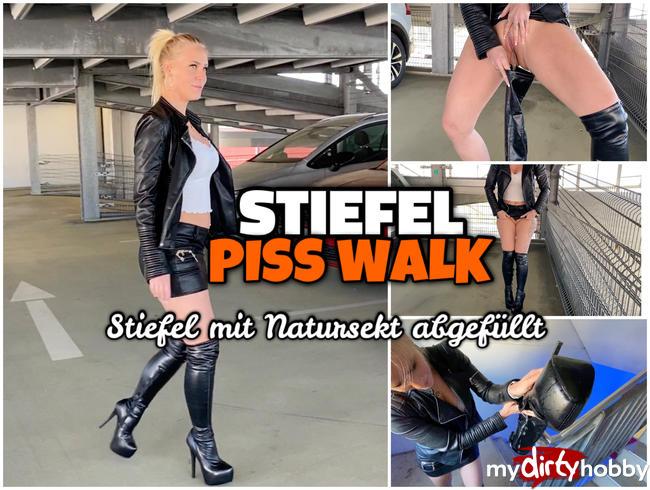 Video Thumbnail STIEFEL PISS Fetisch | Rein gepisst und weiter gegangen