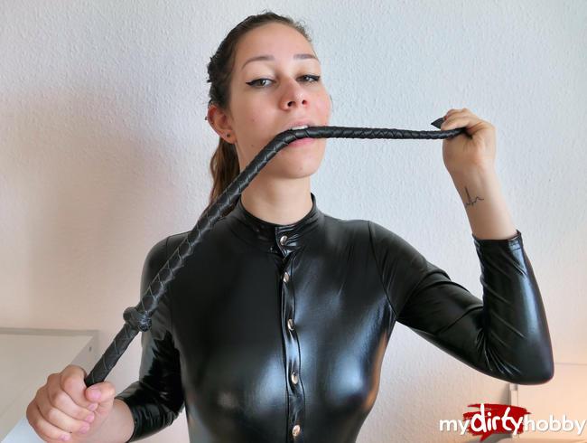 Video Thumbnail Latex Peitschen Domina! Ich zeige dir meine dominante Seite!