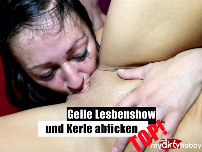 Video Thumbnail Geile Lesbenshow und Kerle abficken