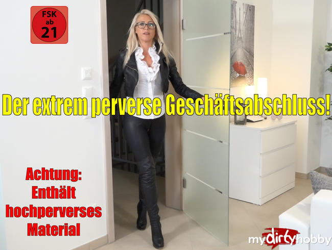 Video Thumbnail Der extrem perverse Geschäftsabschluss | XXXL Doppelpiss + MEGA SPERMAFRESSE!!!