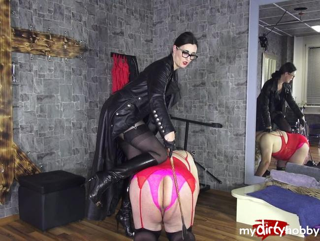 Video Thumbnail Erziehung der Sissy Schlampe: spanking