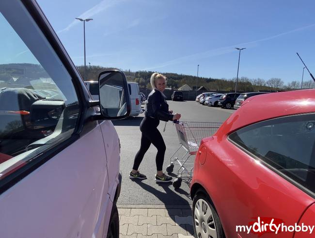 Video Thumbnail Versauter Supermarkt Parkplatz PISS in Zeiten :)