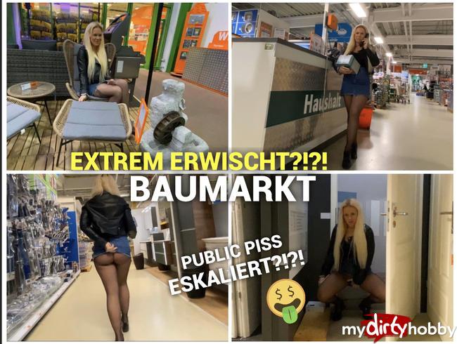 Video Thumbnail Extrem erwischt?!? Baumarkt Piss eskaliert :O ;P