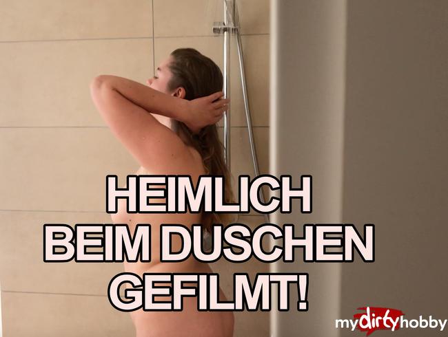Video Thumbnail Heimlich in der Dusche gefilmt!