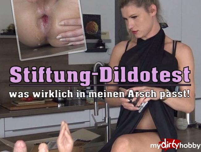 Video Thumbnail Stiftung-Dildotest... was wirklich in meinen Arsch passt!!!