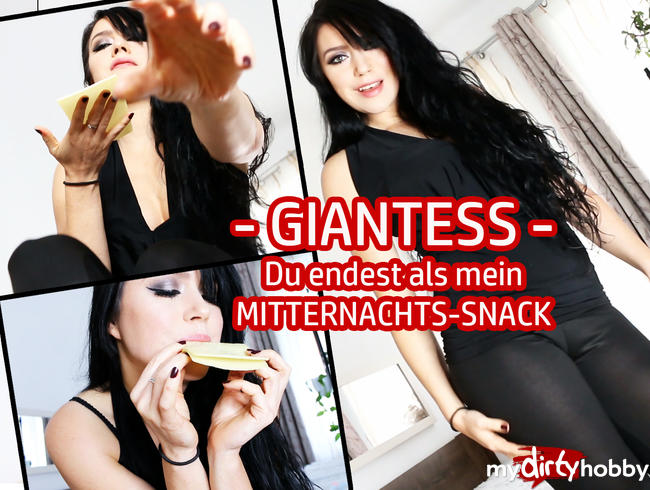 Video Thumbnail GIANTESS – Du endest als mein MITTERNACHTS-SNACK!