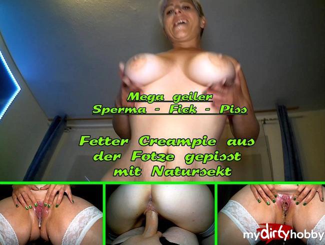Video Thumbnail Jetzt wird es schmutzig! Mega geiler Sperma-Fick-Piss
