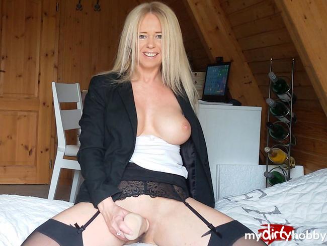 Video Thumbnail Im Home Office selbst verführt und gefickt!