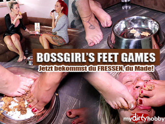 Video Thumbnail BOSSGIRLS FEET-GAMES! Jetzt bekommst du dein Fressen, Made!