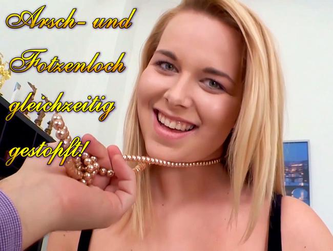 Video Thumbnail Arsch- und Fotzenloch gleichzeitig gestopft!