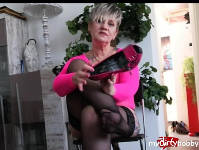 Video Thumbnail Wichsaufforderung , spritz auf meine Füße