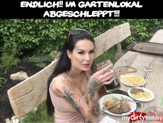 Video Thumbnail ENDLICH!! Im Gartenlokal abgeschleppt!!!