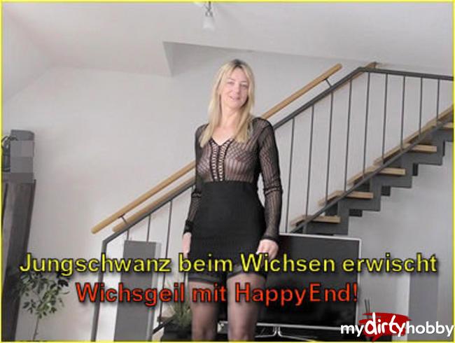 Video Thumbnail Jungschwanz beim Wichsen erwischt I Wichsgeil mit HappyEnd!