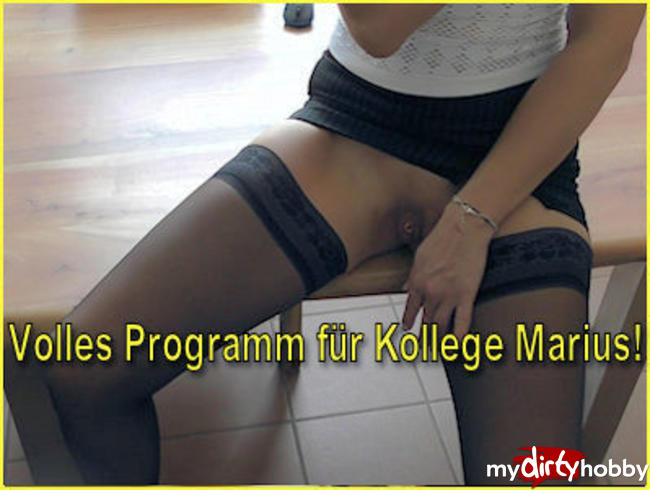 Video Thumbnail Volles Programm für Kollege Marius!