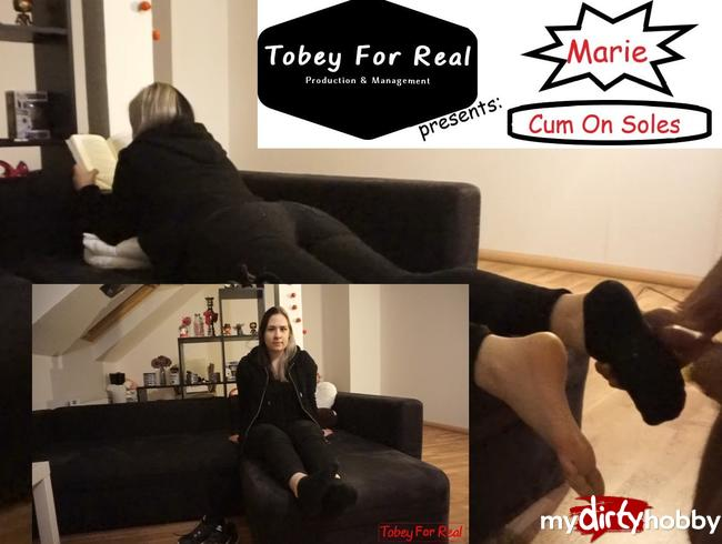 Video Thumbnail Marie - Shoes Socks And Feet - Interview - Cum On Soles