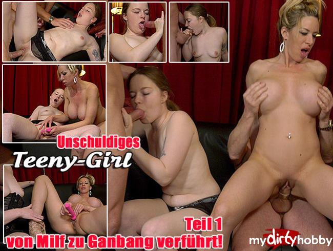 Video Thumbnail Unschuldiges Teeny Girl von Milf zu GangBang verführt - Teil 1