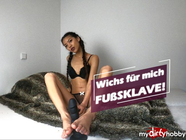 Video Thumbnail Wichs für mich FUßSKLAVE!
