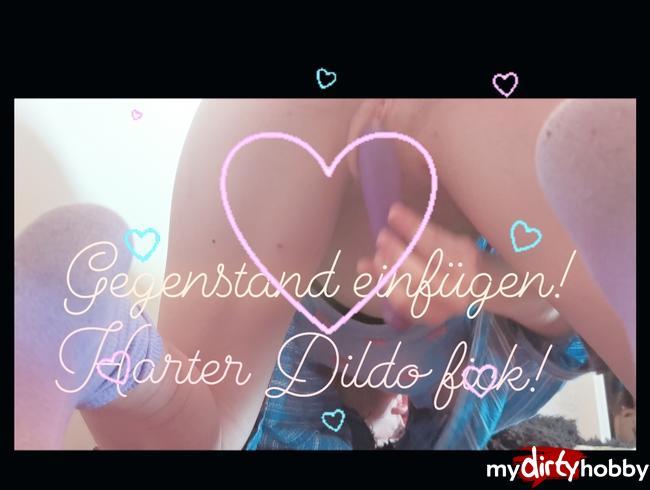 Video Thumbnail Dildo fick hartcore und gewürzdose reinschieben!!