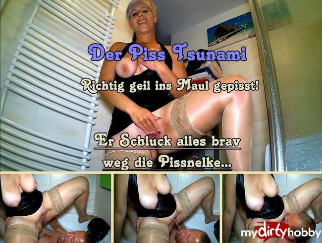 Video Thumbnail Beim Baden Überrascht und ins Maul gepisst!